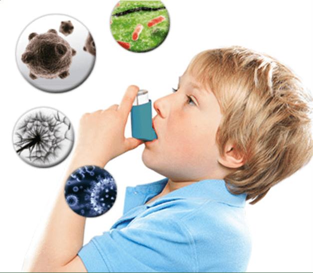 Enfermedad respiratoria provocada por humedad por capilaridad