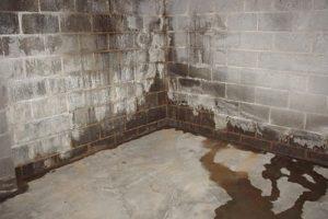 Filtraciones laterales en trastero soterrado