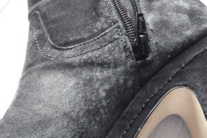 Calzado contaminado por hongos
