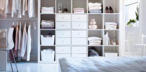 armario con ropa seca