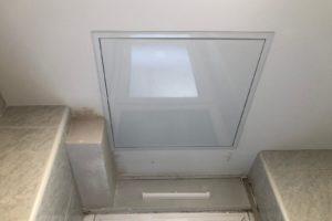 Sistema de ventilación mecánica controlada oculto